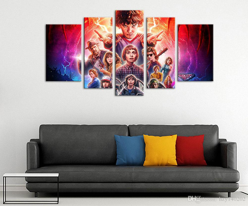 stranger things canvas prints