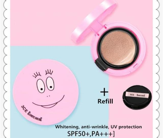 Fashion 3ce House Air Cushion Bb Cream With Replacement Concealer Moisturizing High Quality Beauty Make Up Tools Air Bb Cream Makeup Tools Popular 3ce Bb