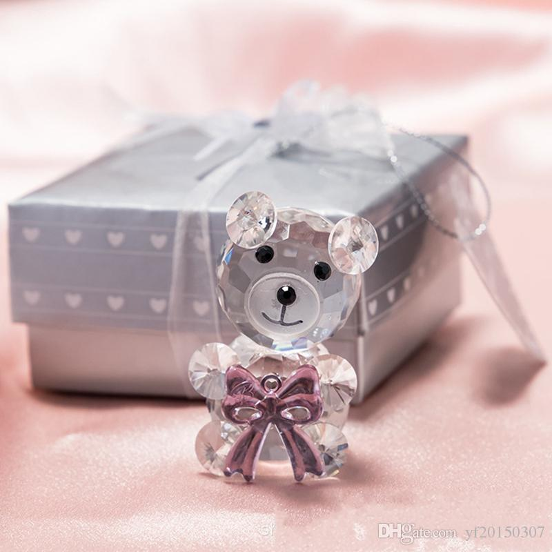 crystal bear baby shower
