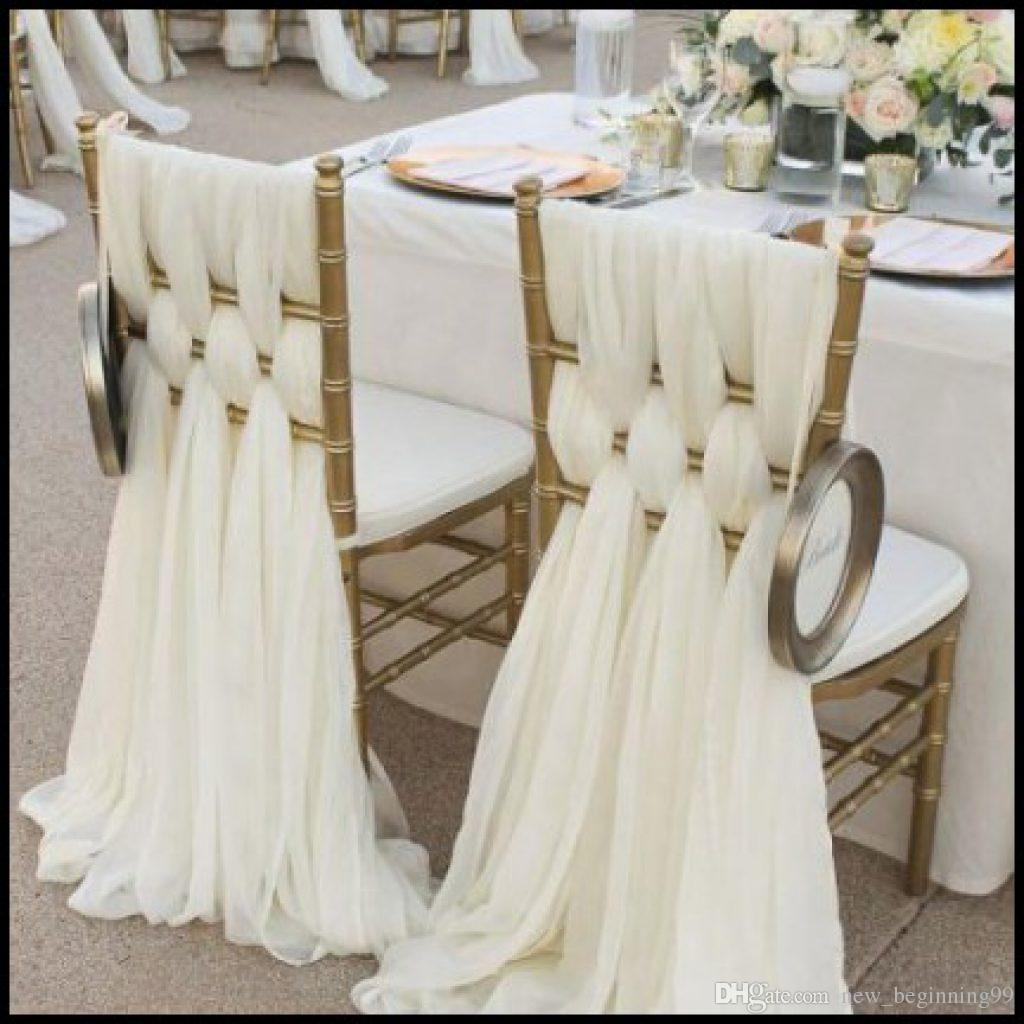 simple diy chair covers design parameters 2019 high quality chiffon wedding decorations cover 2018 bridal classic supplies from new beginning99