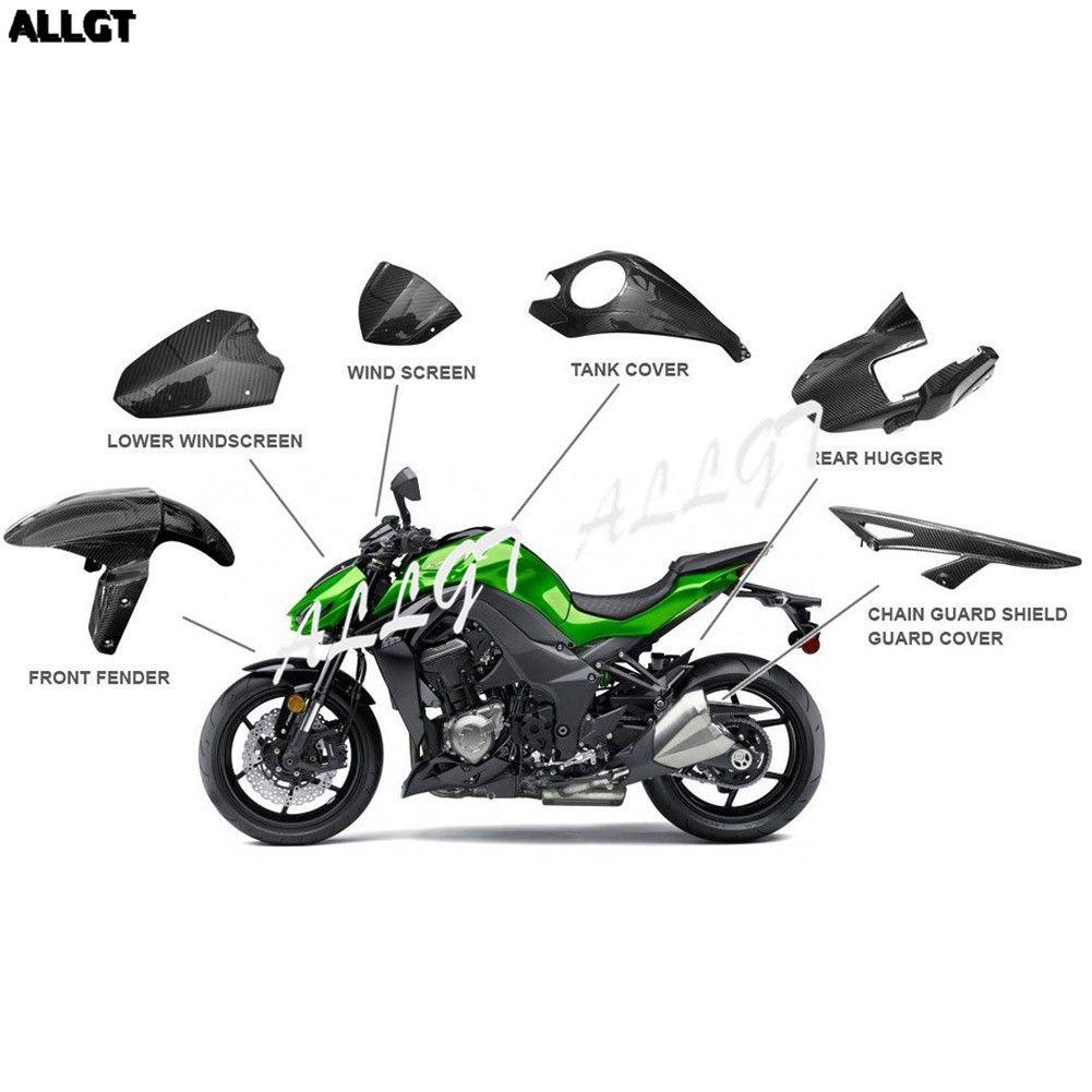 Compre PrePreg Fibra De Carbono Motocicleta Guardabarros