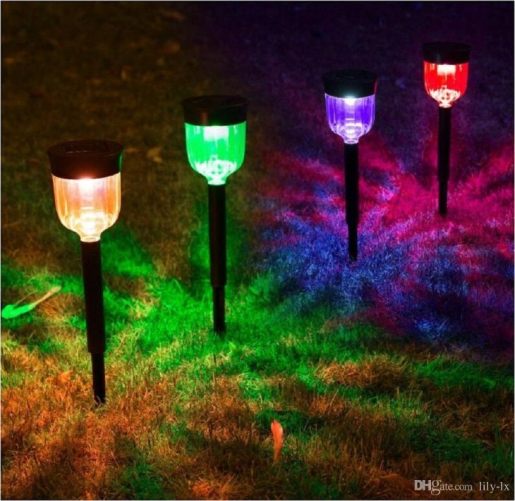 Color Changing Solar Lights For Garden