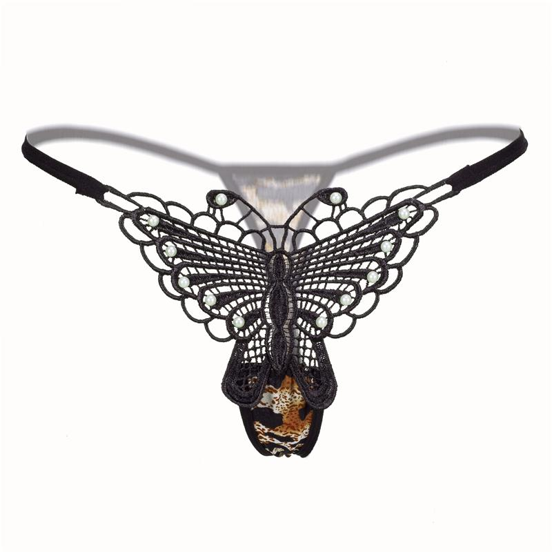 2019 Lace G String Women Sexy Butterfly Underwear Intimate