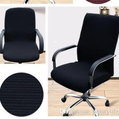 Large Chair Covers For Sale Wholesale Beach Chairs In Bulk Single Color Elastic Computer Living Room Without Armrest Office Stretch Tight Wrapping Paper Seat Case Home Decor And