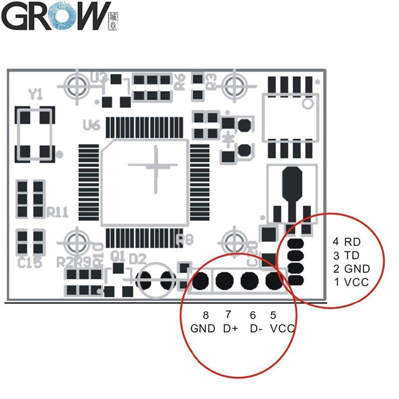 2020 GROW R305 Manufacture Optical Biometric Fingerprint