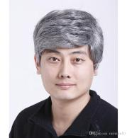 2019 grey hair color synthetic