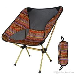High Outdoor Folding Chairs Reclining Office Chair Target Lightweight Breathable Backrest Aluminum Portable Beach Sunbath Garden Picnic Barbecue Camping Fishing Furniture Online