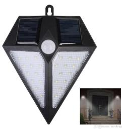 solar lights outdoor 24 led wireless motion sensor security garden security light wiring diagram outdoor security lights no wiring [ 1000 x 1000 Pixel ]