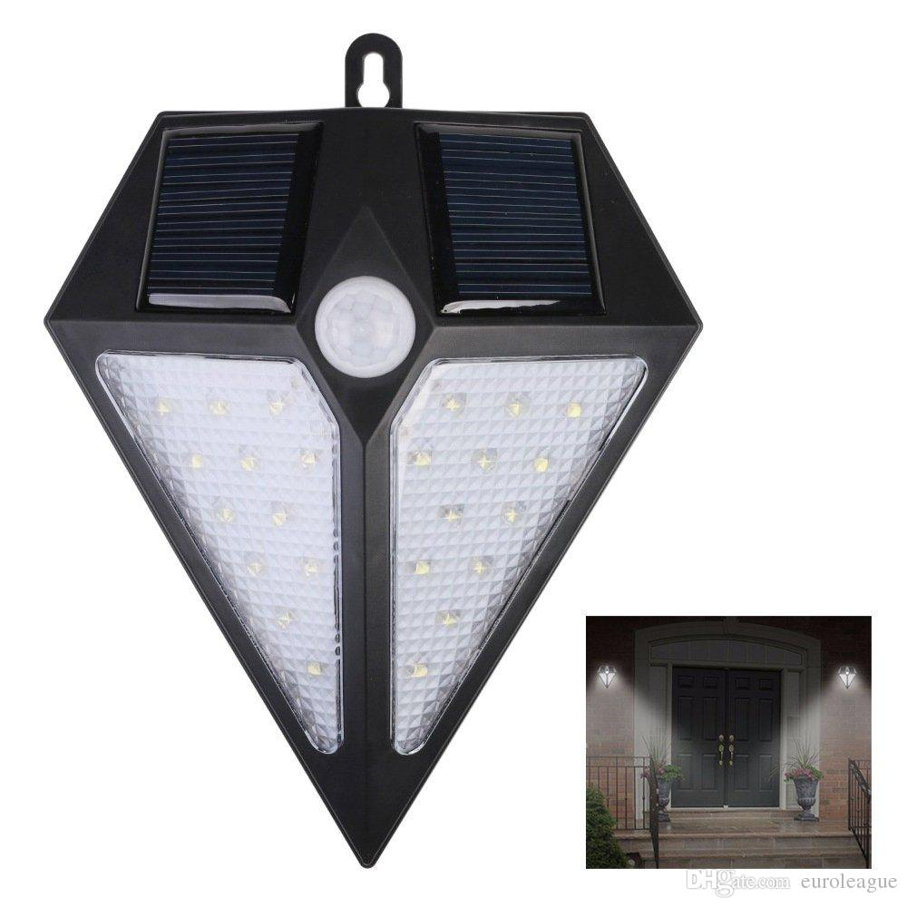 hight resolution of solar lights outdoor 24 led wireless motion sensor security garden security light wiring diagram outdoor security lights no wiring