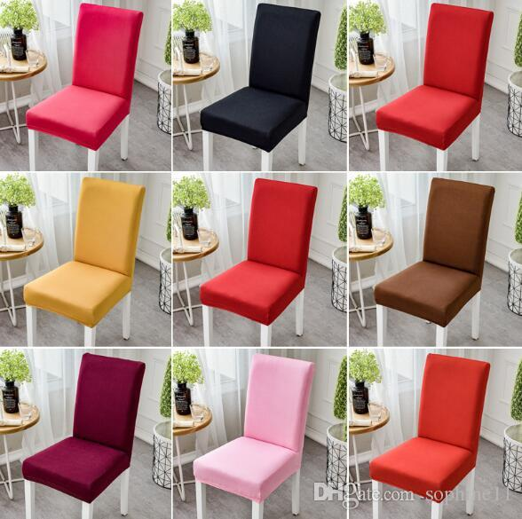 christmas folding chair covers side chairs without arms spandex elastic solid colors dining seat white wedding decoration cover rental for