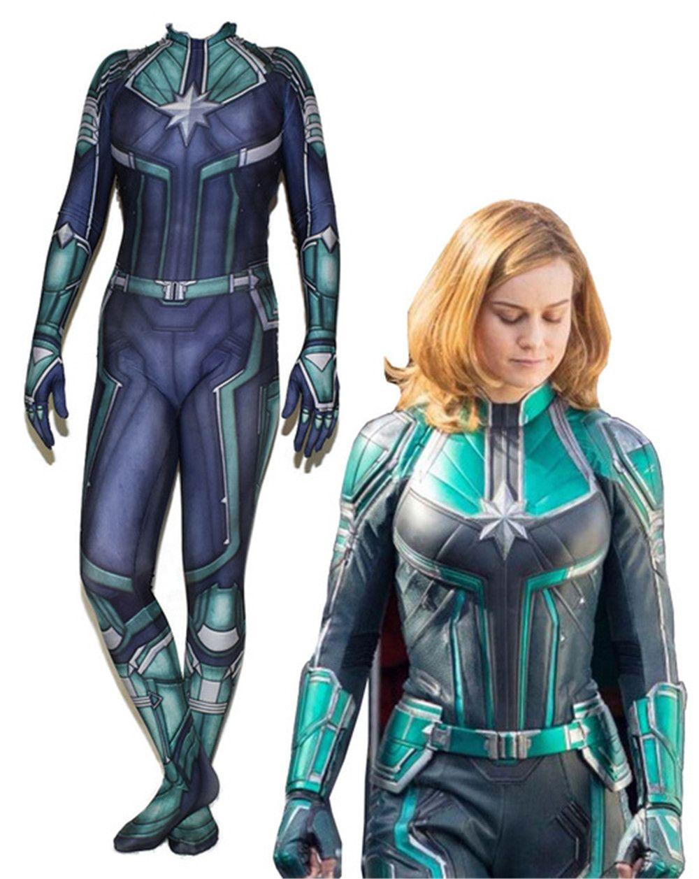 avengers woman captain marvel ms marvel carol danvers cosplay