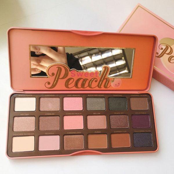 sweet peach palette # 15