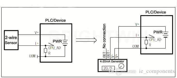 2019 Analog 4 20mA Signal Generator Panel Mount Constant