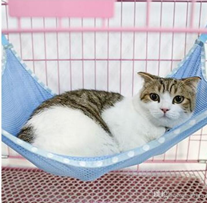 under chair cat hammock mart stam 2019 pet kitten hanging bed cage sleeping resting mesh hammocks 53 38cm playing carrier mats from viola 2 94 dhgate com