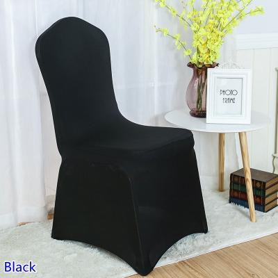 Spandex Chair Cover Coral Colour Flat Front Lycra Stretch