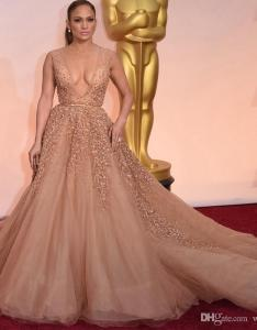 Jennifer lopez evening dresses oscar celebrity deep  neck rhinestone red carpet th prom hy brand cheap also rh dhgate