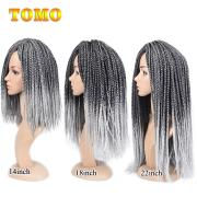 2019 tomo box braid pure ombre