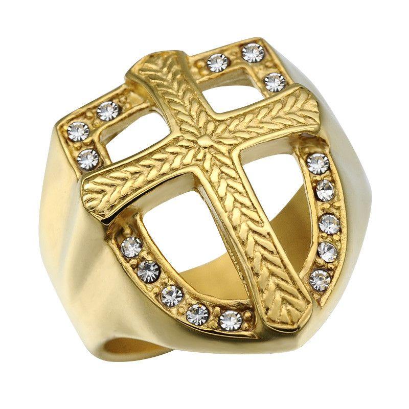 Knights Templar Gold Coin Ring