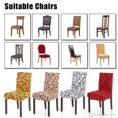 Dining Room Chair Seat Cushion Covers Rocking Plans Maloof Spandex Stretch Elastic Floral Printing Washable Different In The Picture Because Of Lighting Effect Pls Kind Prevail Package List 1 Cover