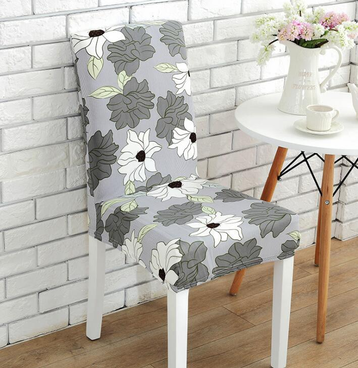chair pad covers wedding stationary bike desk flower print slipcovers floral dining room party chaircase seat cover home decoration chairs outdoor patio cushions custom