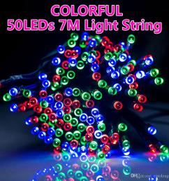 solar power 50 led string lights fairy lamp garden party christmas outdoor battery operated string lights starry string lights from euroleague  [ 1000 x 1000 Pixel ]