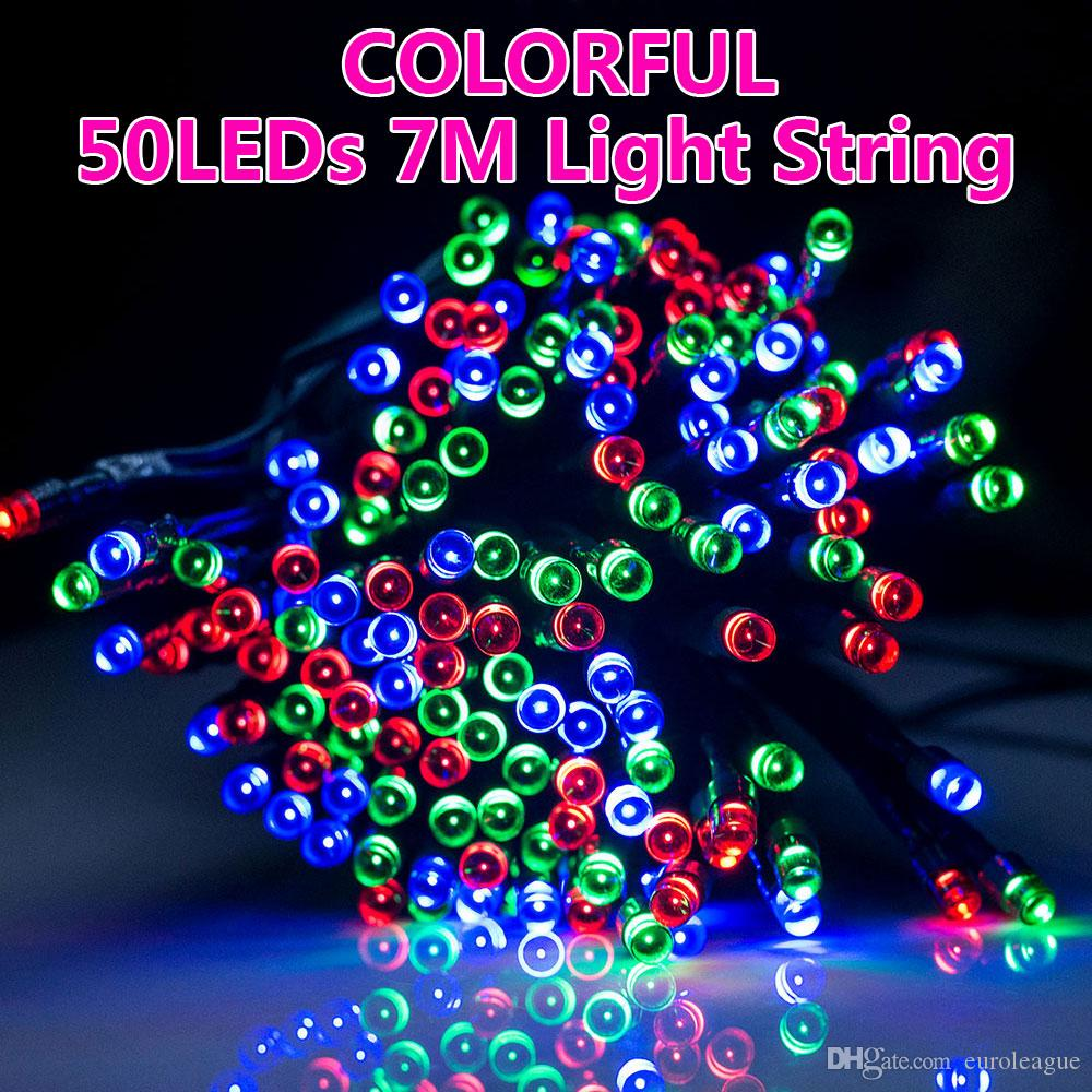 hight resolution of solar power 50 led string lights fairy lamp garden party christmas outdoor battery operated string lights starry string lights from euroleague