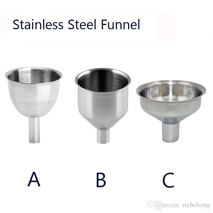 kitchen funnel amy's soup 2019 mini stainless steel hopper cozinha cooking accessories gadgets perfume emulsion packing auxiliary tool from richehong 4 58 dhgate
