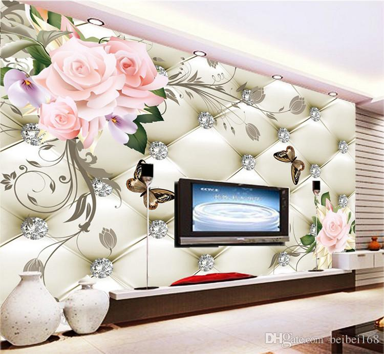 tv sofa best set in chennai european style flowers rich soft bag background wall seamless large murals bedroom living room full of wallpaper desktops wallpapers digital