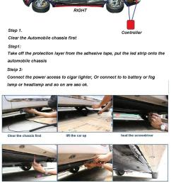 connect the power access to cigar lighter or connect to to battery or fog lamp or headlamp and so on are aso ok  [ 960 x 1828 Pixel ]