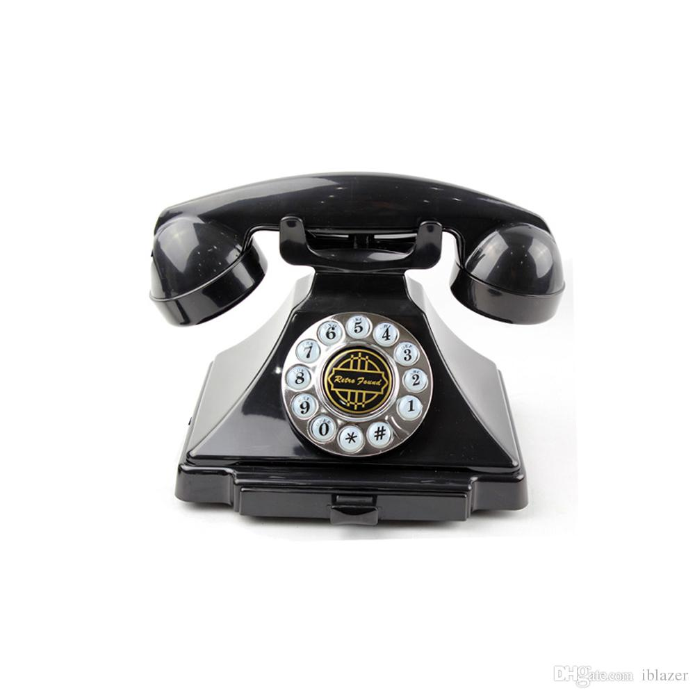 hight resolution of antique phone kettle classic desk phone with push button technology black high grade quality as gift for friend land line telephone retro telephones old