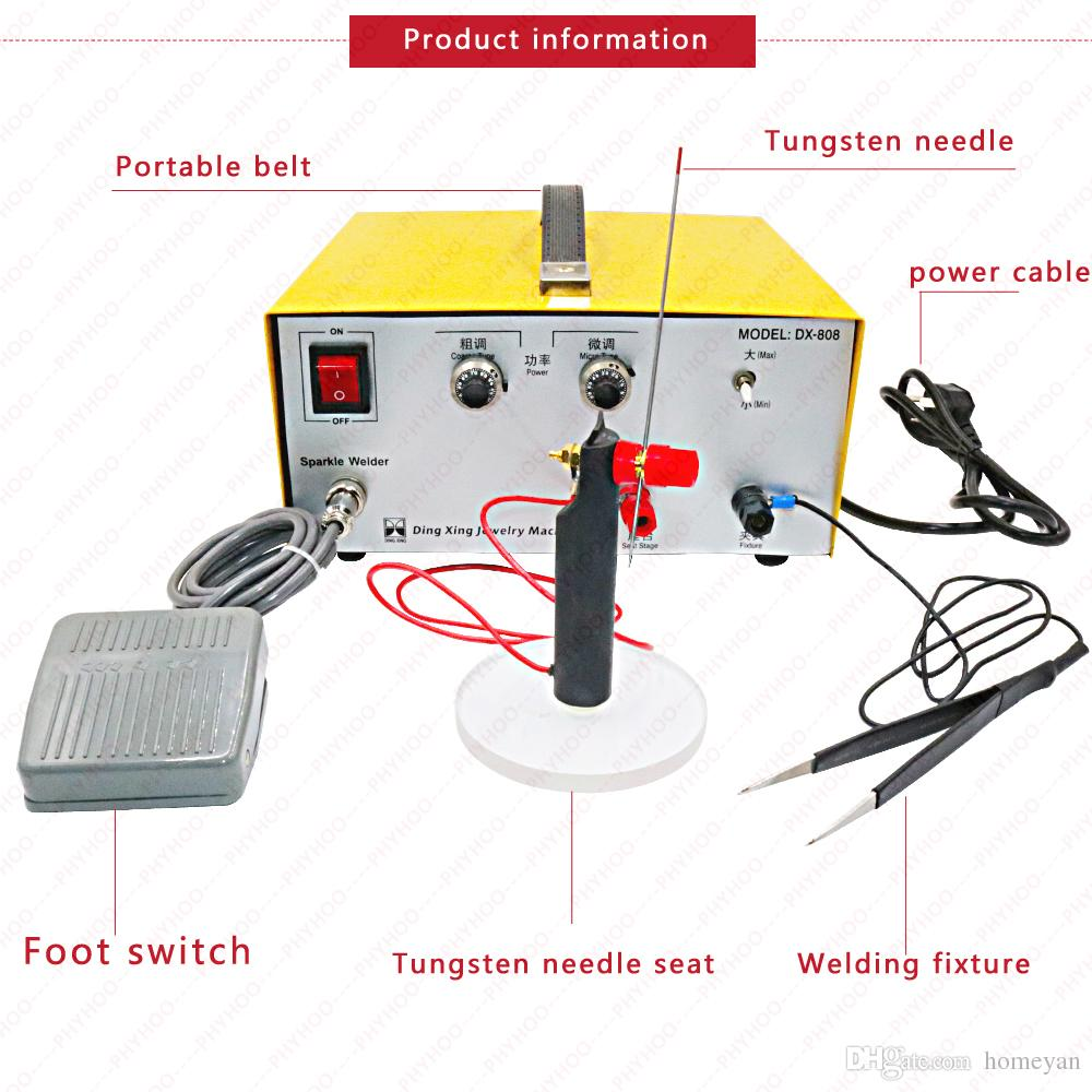 hight resolution of 2019 80a spot welding hand held pulse spot welder welding machine welding machine gold and silver jewelry processing220v from homeyan 121 65 dhgate com