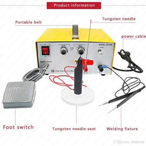 small resolution of 2019 80a spot welding hand held pulse spot welder welding machine welding machine gold and silver jewelry processing220v from homeyan 121 65 dhgate com
