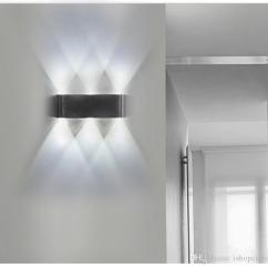Kitchen Wall Lights Cost To Have Cabinets Painted 2019 Up And Down Led Lamp Modern Minimalist Living Room Aisle Background Light Bedroom Hotel Bedside Lamps From Ishopcauto
