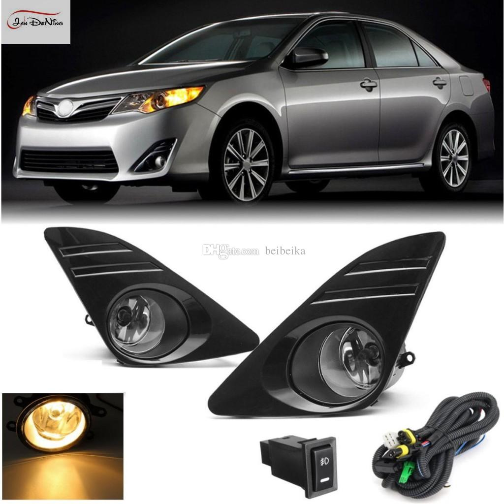 hight resolution of car fog lights for 2012 2014 toyota camry u s type front fog lights bumper lamps kit switch wiring one pair led fog light led fog light bulb from beibeika