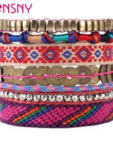 Bonsny new brand weave bead handmade bracelets string seedbead fashion bohemia spring summer bangle jewelry for girl women also rh dhgate