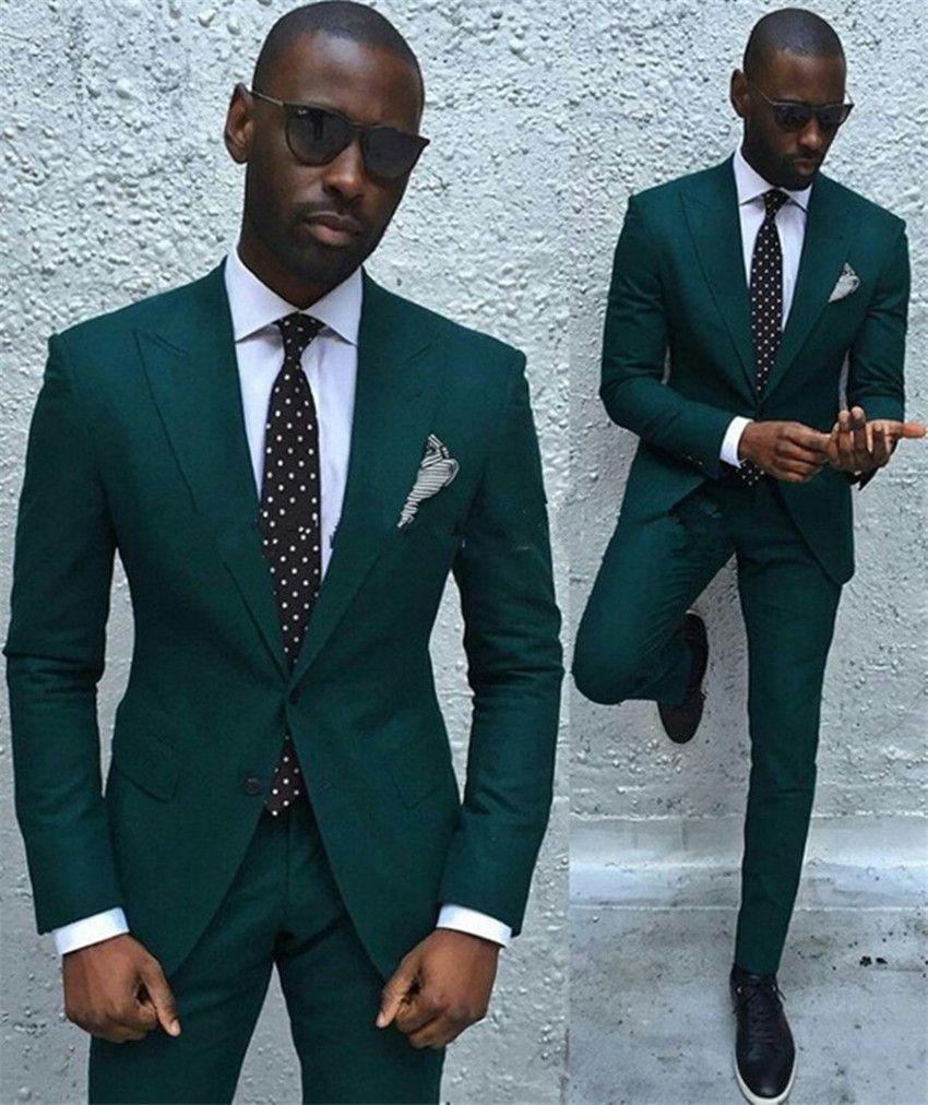 2018 mens suit custom