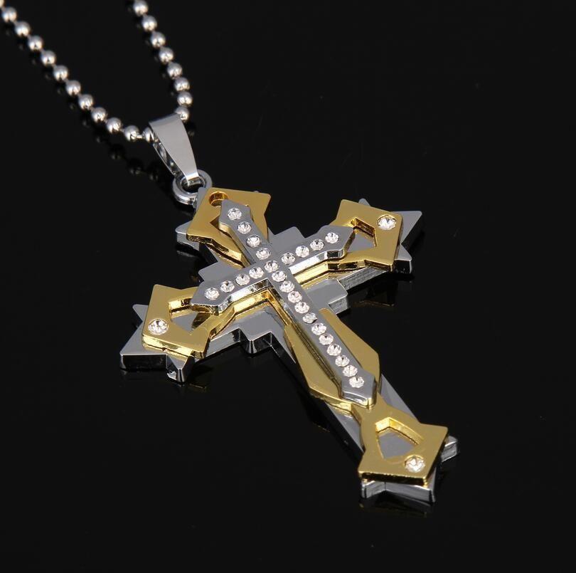 jesus cross necklace religious