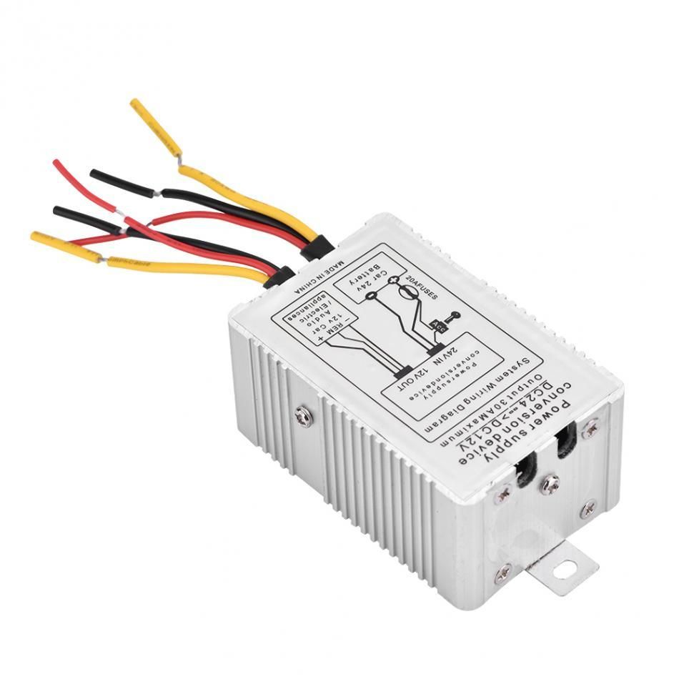 medium resolution of compact power supply converter dc 24v to dc 12v step down 5a 60w rh dhgate com power converter wiring diagram