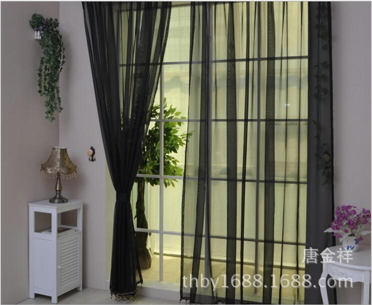 priscilla curtains living room diy small decor ideas 100cmx270cm window screening curtain gauze home bedroom kitchen ornament sheer for wedding party decoration