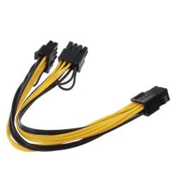 dual pin pci e pin module both are 6 pin design high compatibility 18awg wire made length about 20 cm 20 cm 7 87 inch 7 87 inch [ 1100 x 1100 Pixel ]