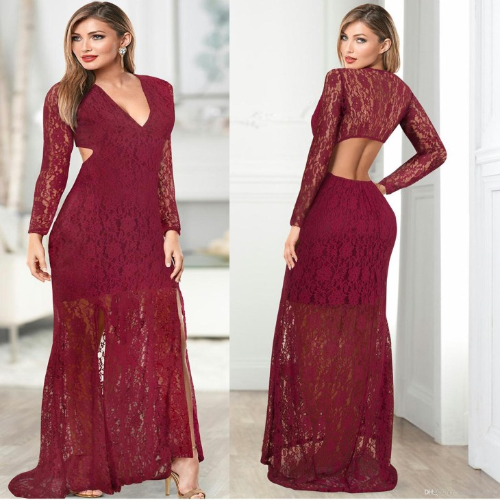 2019 Maternity Dresses Lace Baby Shower Maternity Gown Photography Prop Pregnancy  Dress Maternity Photo Shoot Pregnancy Low Back V Neck Dress From ...