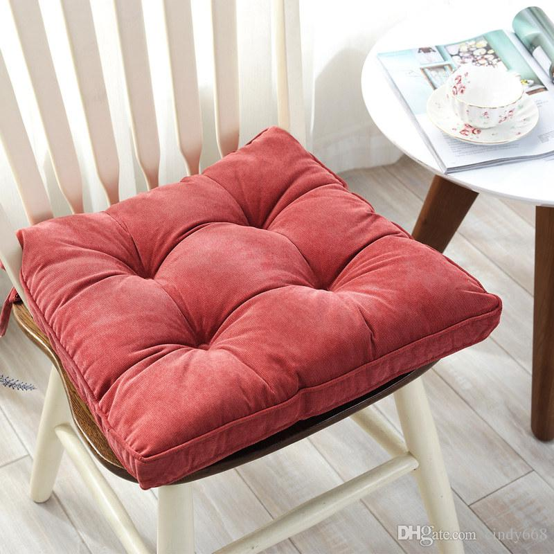 thick chair cushions travel high for 2 year old square seat cushion big size office sitting mattress multiuse floor pad porch patio lounge