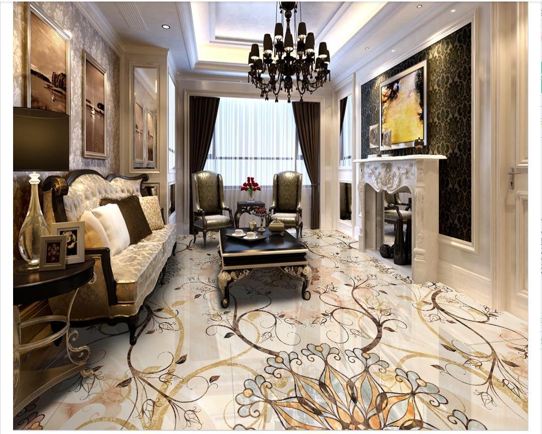 Fliesen Boden Wohnzimmer Us 11 51 32 Off Europaischen Stil
