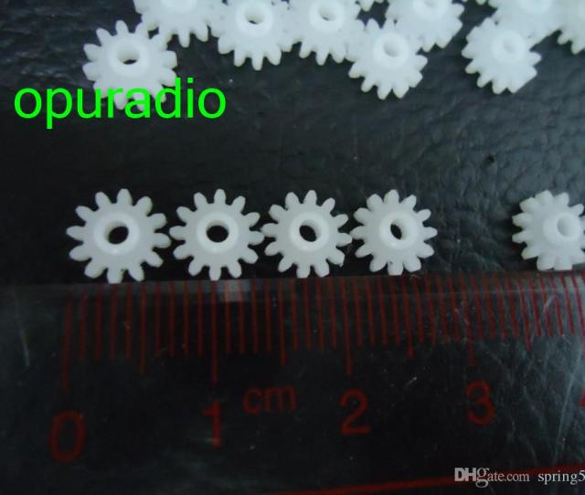Newest Useful Clarion Gear Cd Drive Gear White Plastic Gears Module Car Parts Accessories 50pcs Lot Free Shipping