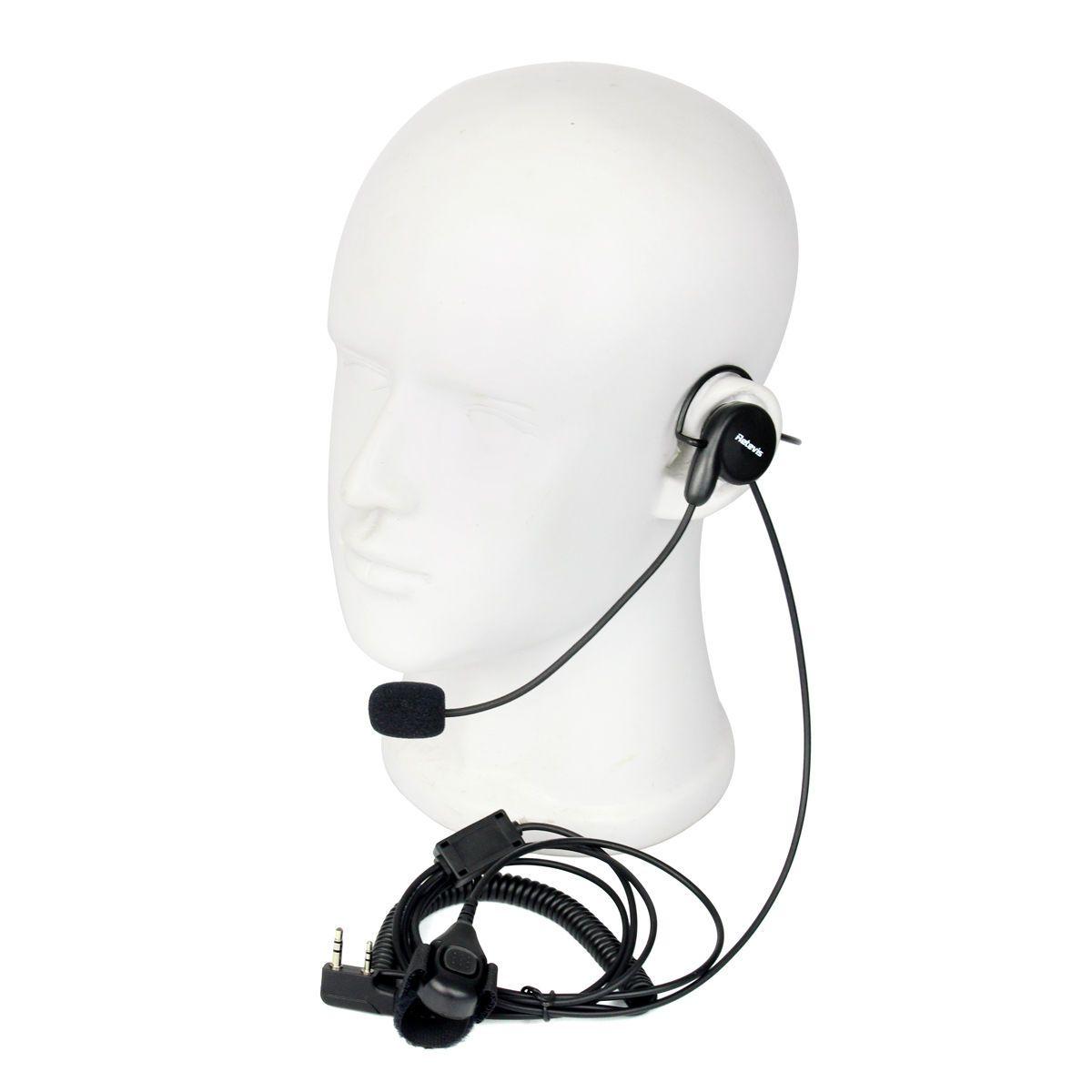 hight resolution of  new 2 pin earpiece mic finger ptt headset for kenwood baofeng wouxun wouxun microphone wiring diagram