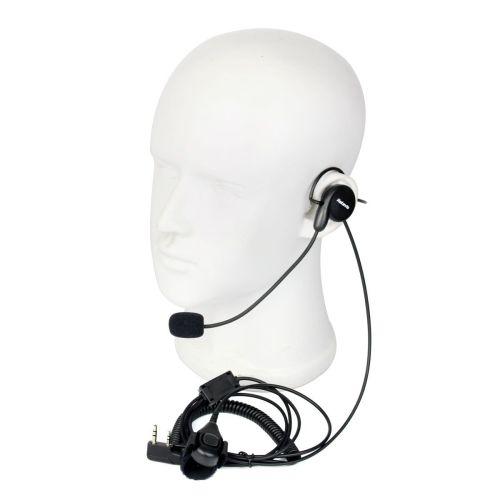 small resolution of  new 2 pin earpiece mic finger ptt headset for kenwood baofeng wouxun wouxun microphone wiring diagram