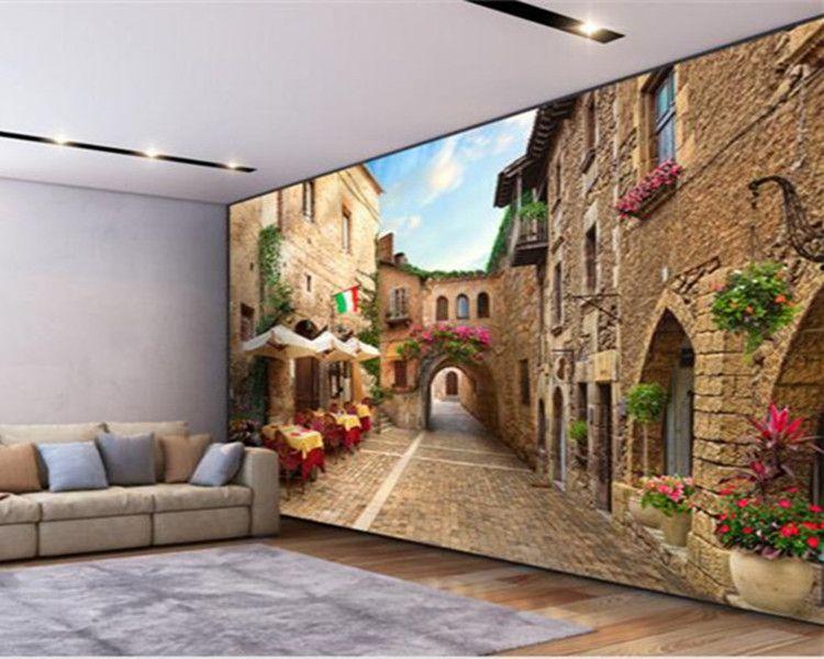 3d wallpaper custom nonwovens