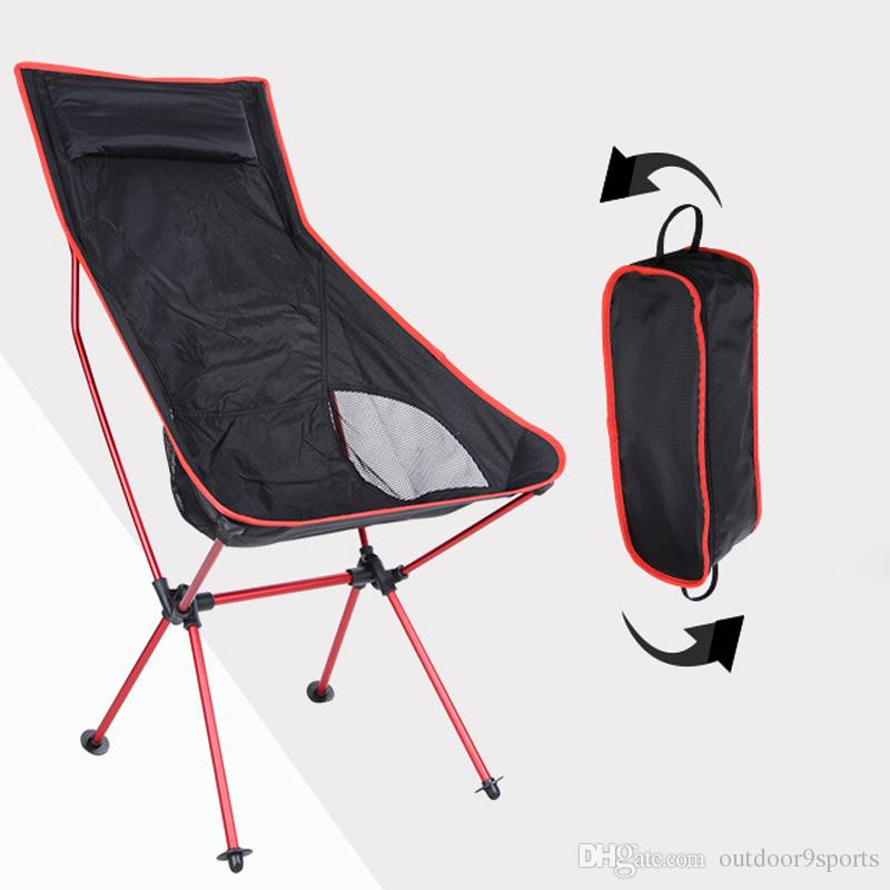 portable picnic chair antique school desk new outdoor folding barbecue camping beach leisure moon chairs aluminum alloy fishing lawn furniture from