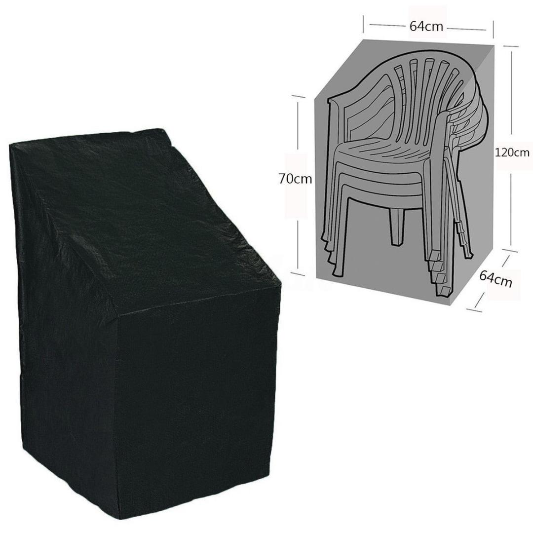 Heavy Duty Outdoor Chairs Protective Patio Chair Cover Heavy Duty Waterproof Dust Rain Cover For Garden Outdoor Furniture Accessories