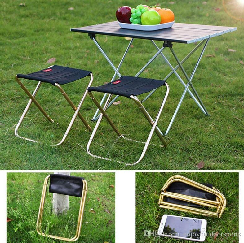 fishing chair best price ez hang chairs outdoor portable foldable camping ultralight 7075 aluminum alloy picnic bbq stool folding travel with bag us6825 garden patio